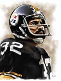 8 X 10 Franco Harris Pittsburgh Steelers Limited Edition Giclee Series #4