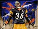 8 X 10 Jerome Bettis Pittsburgh Steelers Limited Edition Giclee Series #2