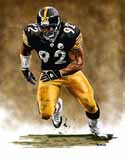 13 X 17 James Harrison Pittsburgh Steelers Limited Edition Giclee Series #1