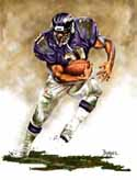 8 X 10 Jamal Lewis Baltimore Ravens Limited Edition Giclee Series #1