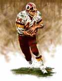 8 X 10 John Riggins Washington Redskins Limited Edition Giclee Series #1