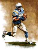 8 X 10 LaDainian Tomlinson San Diego Chargers Limited Edition Giclee Series #1