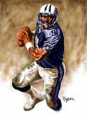 13 X 17 Steve McNair Tennessee Titans Limited Edition Giclee Series #1