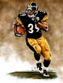 13 X 17 Willie Parker Pittsburgh Steelers Limited Edition Giclee Series #1