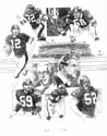 70's Pittsburgh Steelers Limited Edition Lithograph