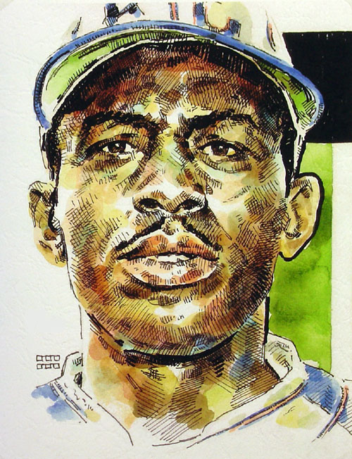 Satchel Paige Kansas City Monarchs Limited Edition Print
