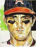 Nolan Ryan California Angels Limited Edition Print