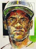 Roberto Clemente Pittsburgh Pirates Limited Edition Print