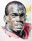Adrian Peterson Oklahoma Sooners Limited Edition Print