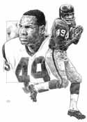 Bobby Mitchell Washington Redskins Limited Edition Lithograph