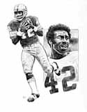 Charley Taylor Washington Redskins Limited Edition Lithograph