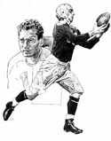 Don Hutson Green Bay Packers Limited Edition Lithograph