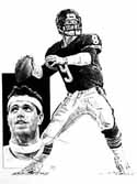 Jim McMahon Chicago Bears Limited Edition Lithograph