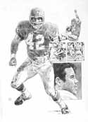 Johnny Robinson Kansas City Chiefs Limited Edition Lithograph
