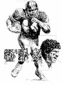 John Riggins Washington Redskins Limited Edition Lithograph