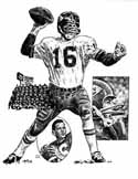 Len Dawson Kansas City Chiefs Limited Edition Lithograph