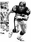 Mike Webster Pittsburgh Steelers Limited Edition Lithograph