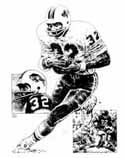 O.J. Simpson Buffalo Bills Limited Edition Lithograph