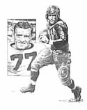 Red Grange Chicago Bears Limited Edition Lithograph