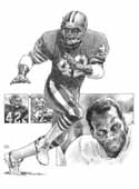 Ronnie Lott San Francisco 49ers Limited Edition Lithograph