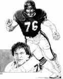 Steve McMichael Chicago Bears Limited Edition Lithograph