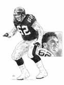 Tunch Ilkin Pittsburgh Steelers Limited Edition Lithograph