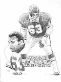 Willie Lanier Kansas City Chiefs Limited Edition Lithograph