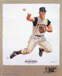 Bill Mazeroski Pittsburgh Pirates Lithograph