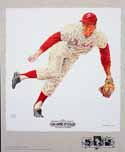 Jim Bunning Philadelphia Phillies Lithograph