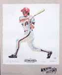 Mike Schmidt Philadelphia Phillies Lithograph