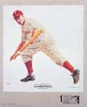 Ritchie Ashburn Philadelphia Phillies Lithograph