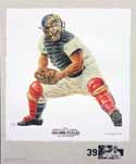 Roy Campanella Brooklyn Dodgers Lithograph