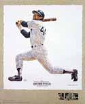 Reggie Jackson New York Yankees Lithograph