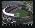 22 X 28 Kaufman Stadium Kansas City Royals Aerial Print