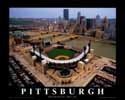 8 X 10 PNC Park Pittsburgh Pirates Aerial Print