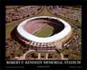 8 X 10 RFK Stadium Washington Redskins Aerial Print