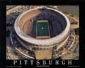 8 X 10 Three Rivers Stadium Pittsburgh Steelers Aerial Print