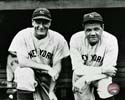 Babe Ruth & Lou Gehrig New York Yankees Photo