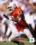Ray Lewis Miami Hurricanes Photo