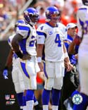 Brett Favre & Adrian Peterson Minnesota Vikings Photo