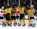 Boychuk, Recchi, Krejic, & Morris Boston Bruins Photo