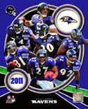2011 Team Composite Baltimore Ravens Photo