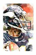 Daunte Culpepper Minnesota Vikings Limited Edition Print