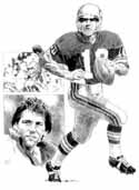 Jim Zorn Seattle Seahawks Original Artwork By Michael Mellett