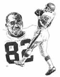 Ozzie Newsome Cleveland Browns Original Artwork By Michael Mellett