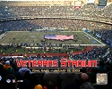16 X 20 Veterans Stadium Philadelphia Eagles Photo
