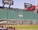 16 X 20 Green Monster Fenway Park Boston Red Sox Photo