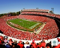 16 X 20 Sanford Stadium Georgia Bulldogs Photo