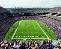 16 X 20 MT Bank Stadium Baltimore Ravens Team Photo
