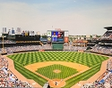 16 X 20 Turner Field Atlanta Braves Photo